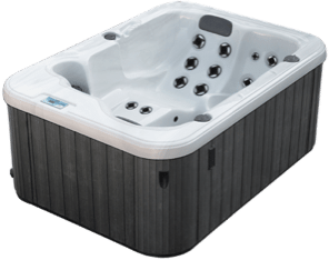 Garden leisure spas olympic pool and spa - Jacuzzi 2 places dimensions ...